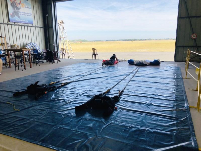test saut en parachute Cap Adrenaline