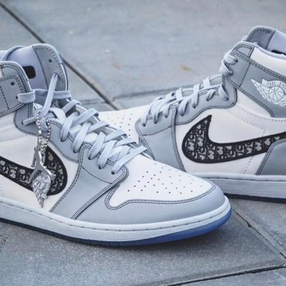 Dior Air Jordan mode basket