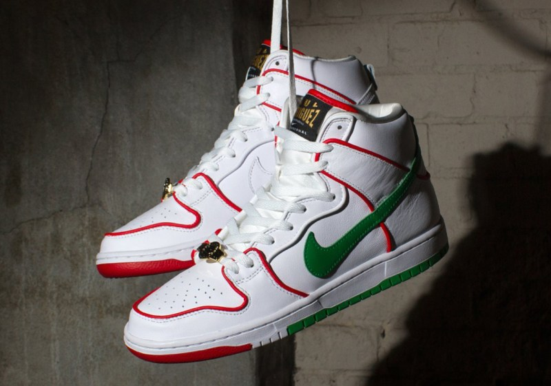sneakers homme skate Paul Rodriguez x Nike Dunk High SB