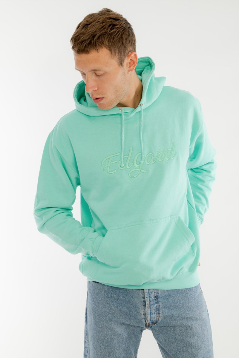 hoodie à capuche vert made in France Edgard Paris nouvelle collection