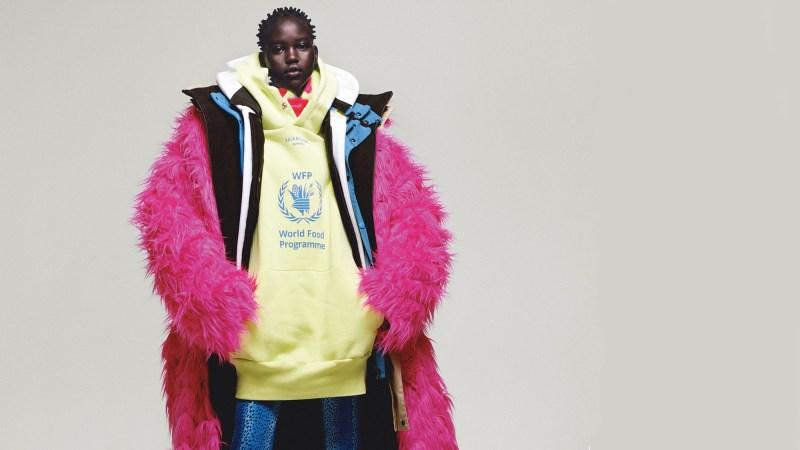 Maison de couture look Demna Gvasalia