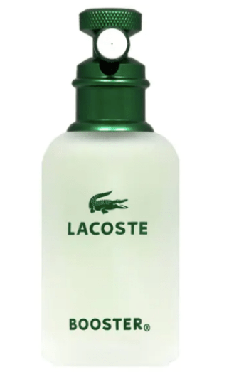 look de la semaine parfum lacoste booster