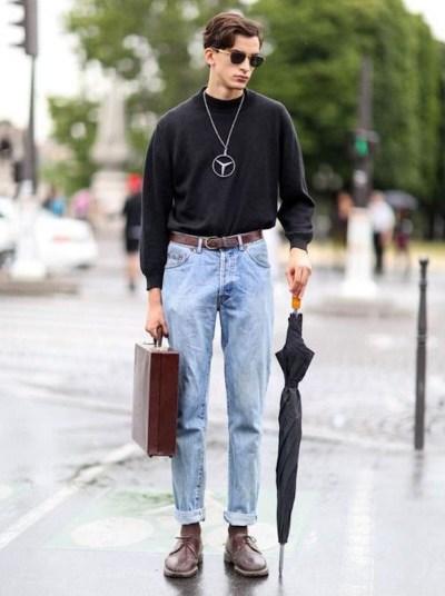 choisir la coupe de son jean taille haute