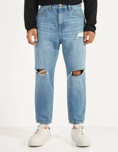 choisir la coupe de son jean loose