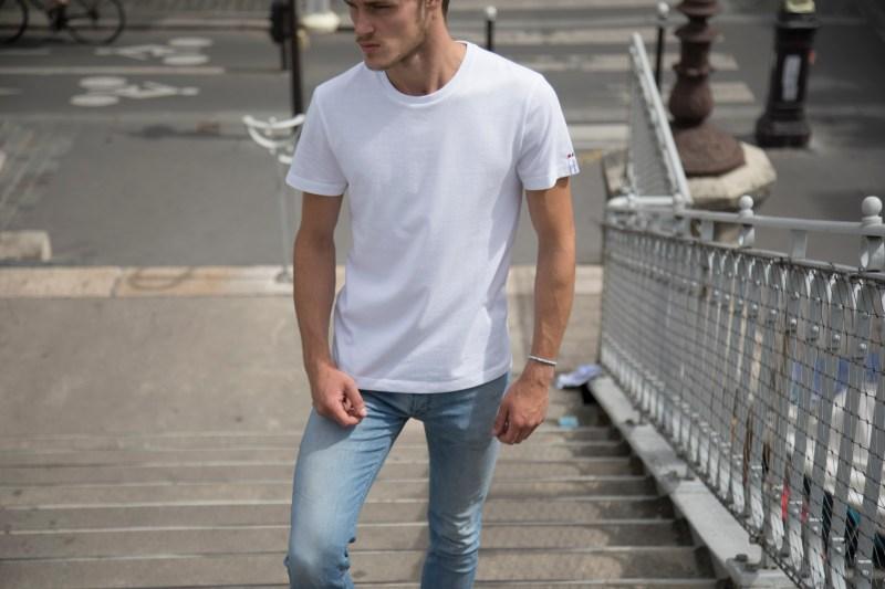 éco-responsable Egard paris tshirt blanc