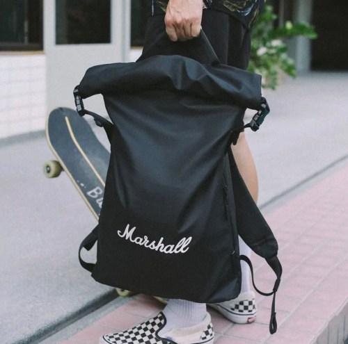 Sac à dos Marshall travel noir homme