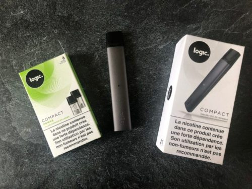 logic compact cigarette électronique vapoter style