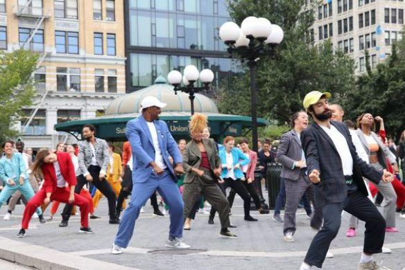 façons originales de déclarer sa flamme avec le flashmob