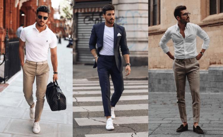 mode casual homme les hauts