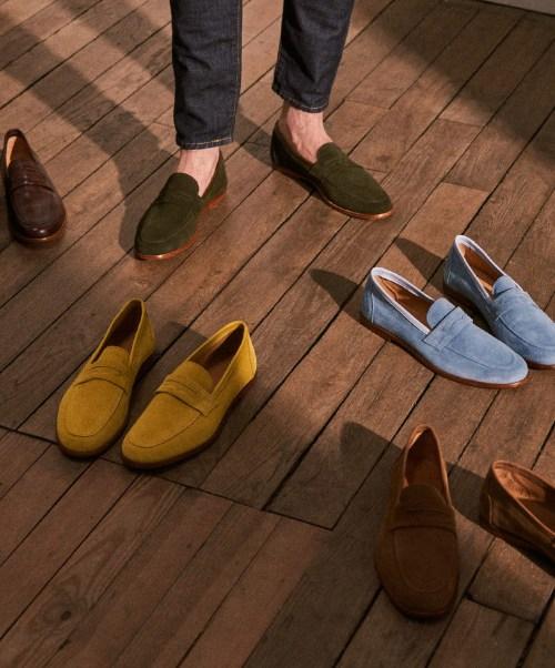 chaussure homme tendance été paire & fils mocassins