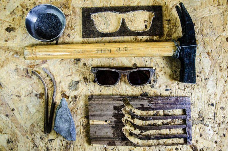 Wood Light lunettes de soleil en bois