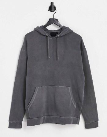 Look de la semaine 39 hoodie noir vintage ASOS DESIGN