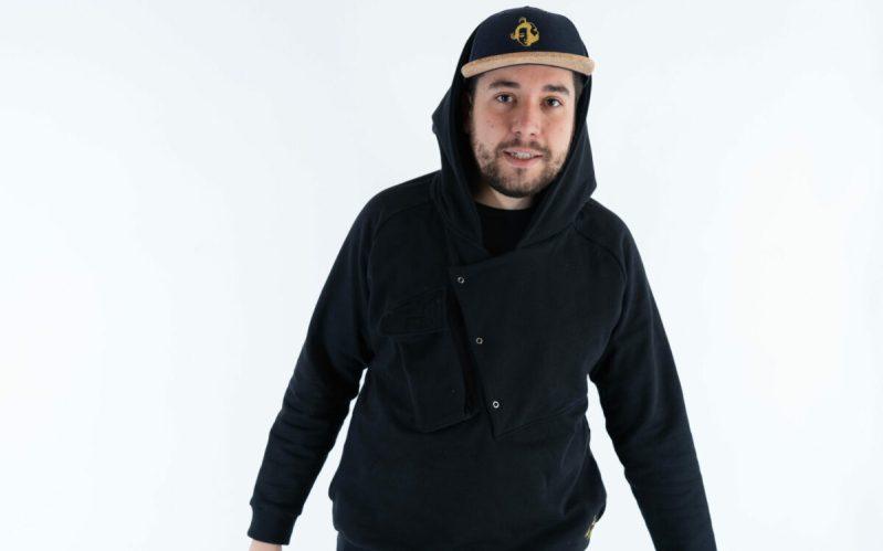 Streetwear le hoodie en coton bio recyclé