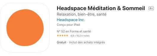 Top 10 pour mieux dormir Headspace