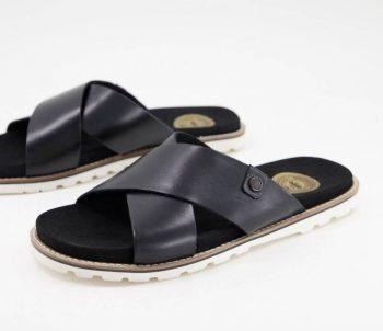 Imitation claquettes Hermès Sandales en cuir Base London