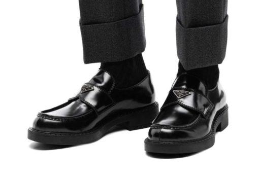Les meilleures imitations de chaussures de luxe Mocassins Prada