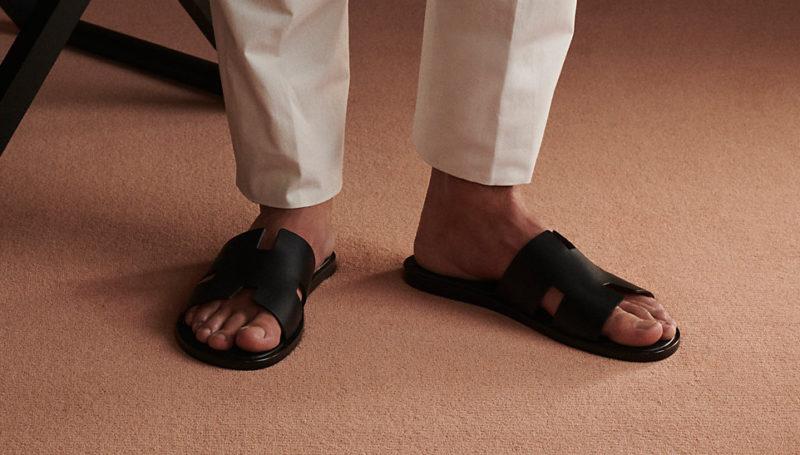 Les meilleures imitations de chaussures de luxe Sandales Hermès