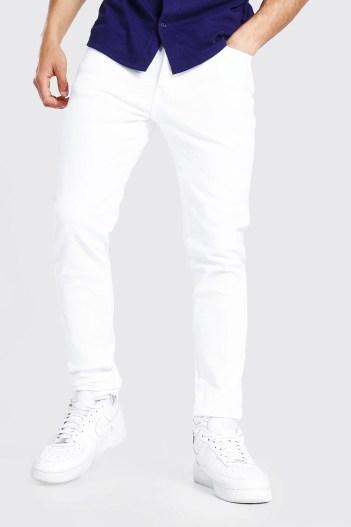 Look de la semaine 43 Jean fuselé blanc Boohoo