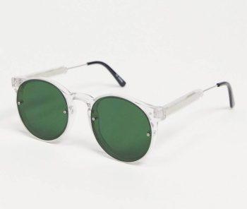 Look de la semaine 43 Lunettes de soleil rondes à verres verts Spitfire