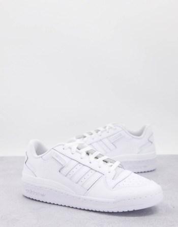 Baskets Adidas Originals Forum Triple blanc