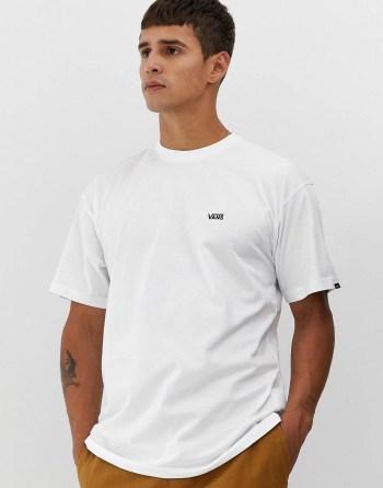 Look de la semaine 45 T-shirt blanc à logo Vans