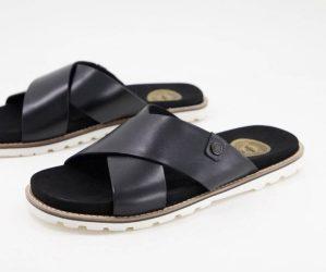 Sandales en cuir Gobi Base London