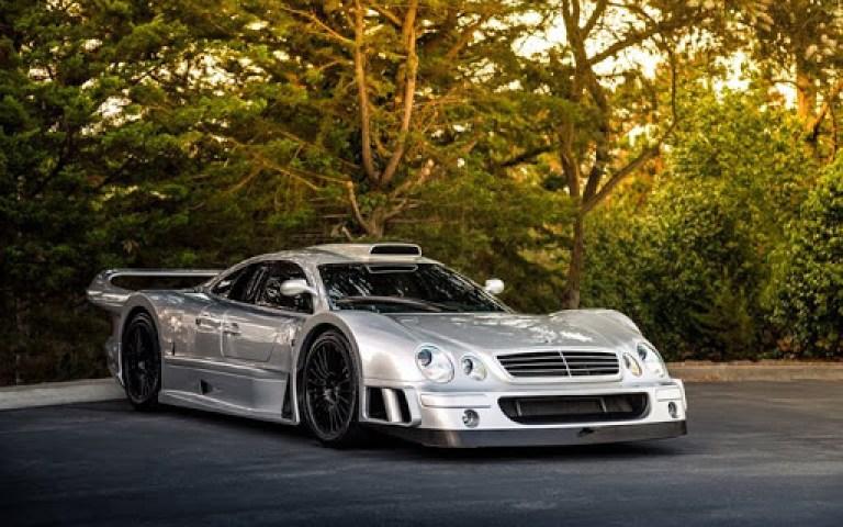 Top 10 des plus belles voitures du monde Mercedes-Benz CLK GTR