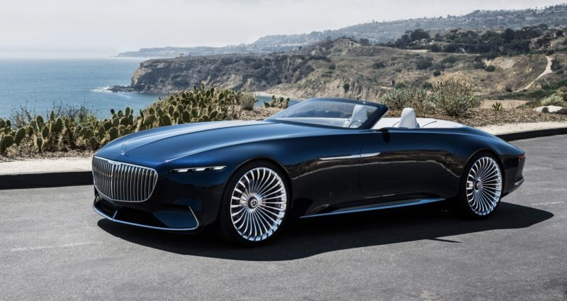 Top 10 des plus belles voitures du monde Mercedes-Maybach 6 Cabriolet