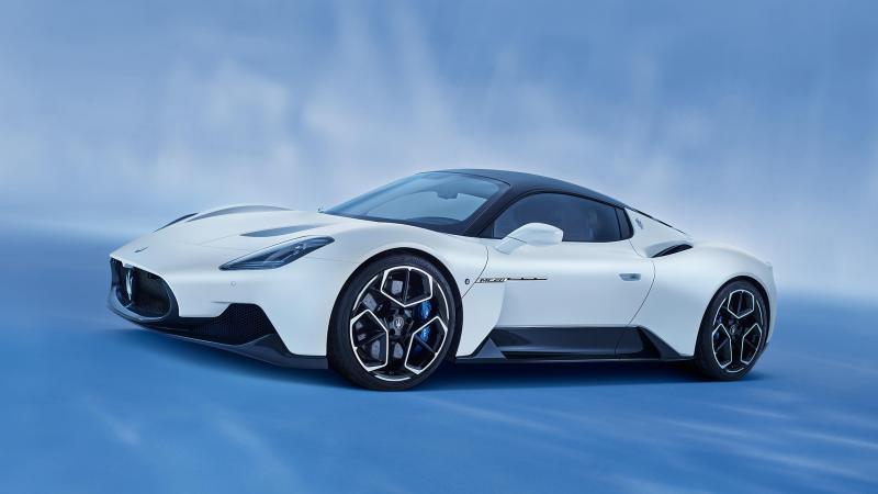 Top 10 des plus belles voitures du monde Maserati MC20