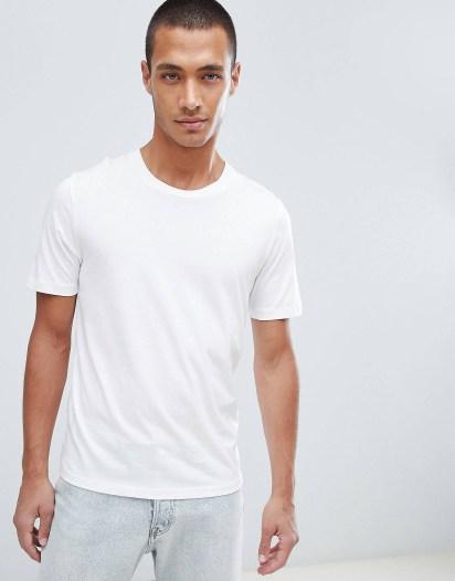 tshirt-blanc chic jogging