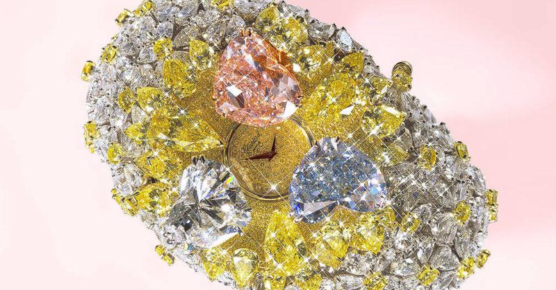 Montres les plus chères du monde Montre 201 carats de Chopard
