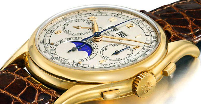 Les montres les plus chères du monde Montre Réf 1527 de Patek Philippe