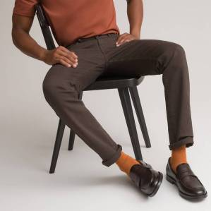 Pantalon 5 poches coton bio La Redoute Collections
