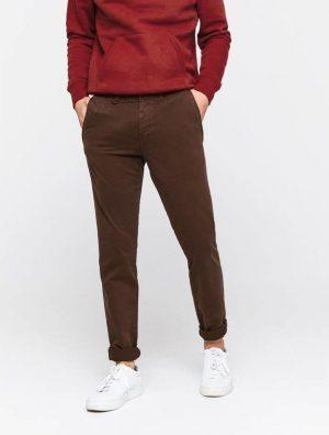 Pantalon chino ajusté en coton Bio Bizzbee