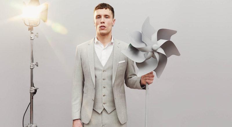 costume sur-mesure gris clair L'apiéceur