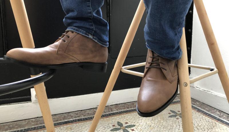 chaussures personnalisables portées