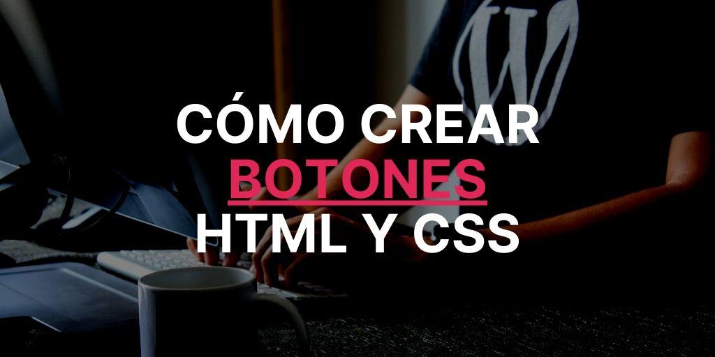 crear botón en HTML