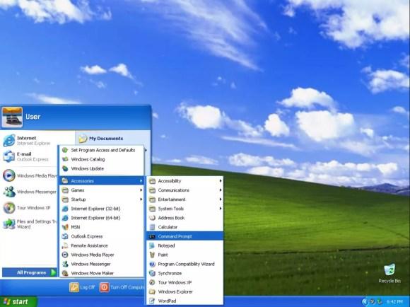 La historia de Windows: Windows XP