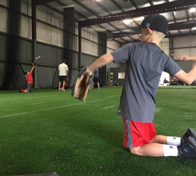 Pitchers Throwing from Knees