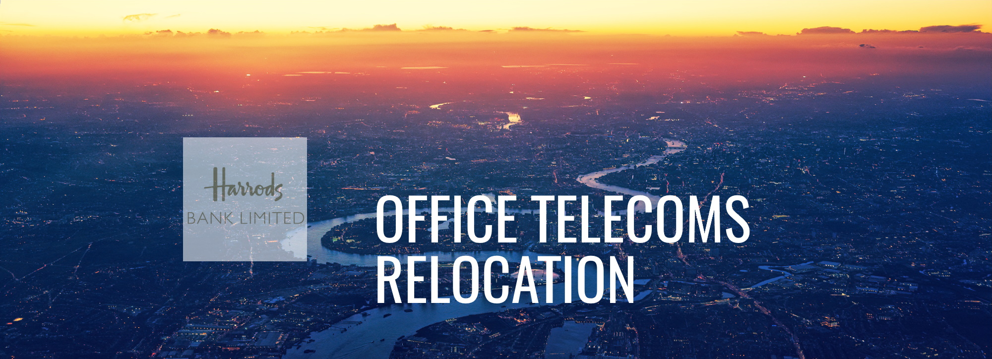 Telephone System Relocation - London Office Telecoms Relocation Case Study - Harrods