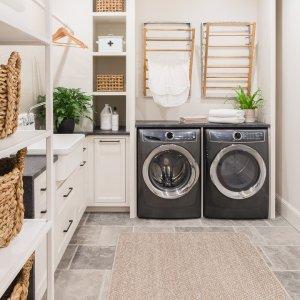 galvanized wall mount laundry drying rack