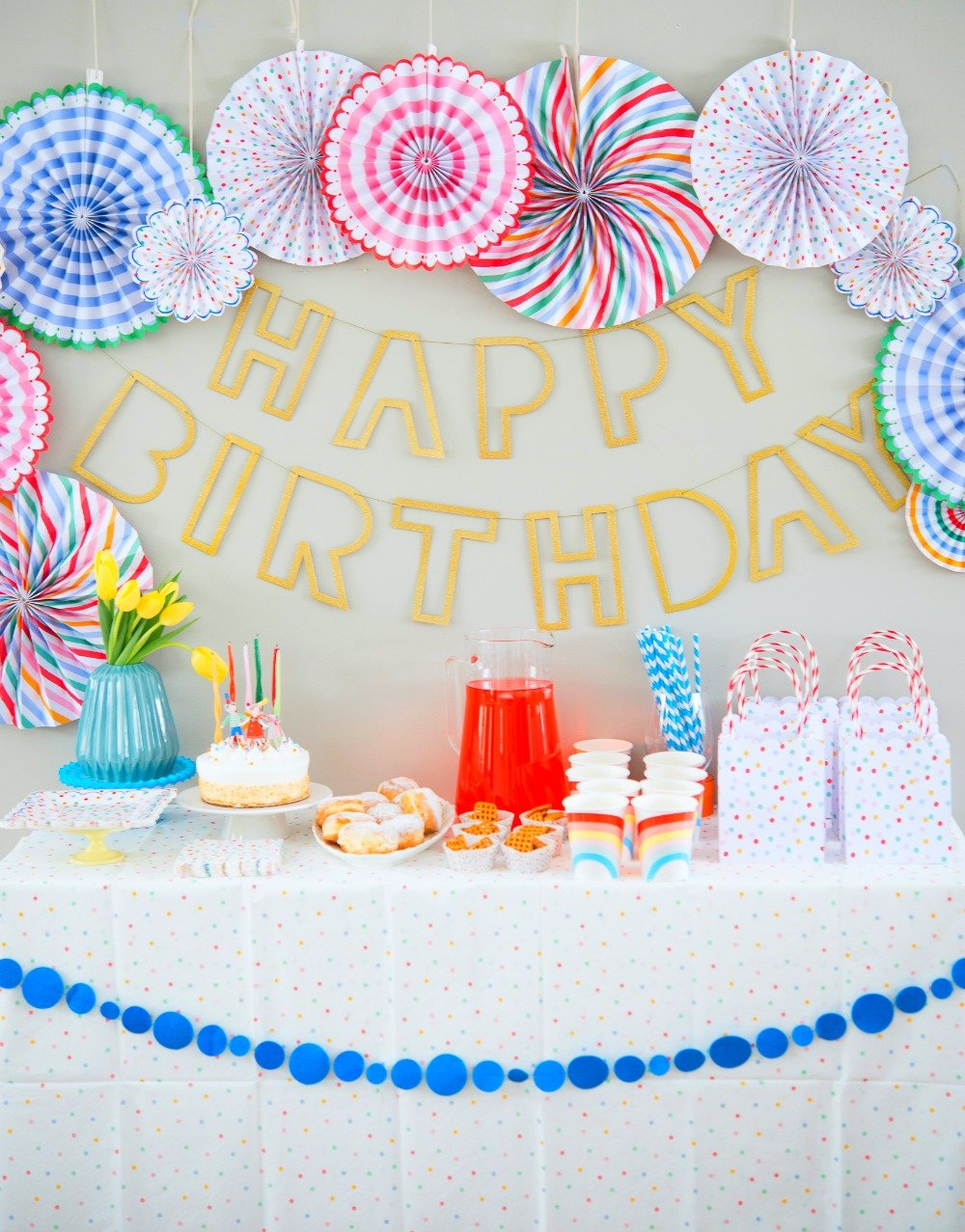 Polka Dot Birthday Party Decorations Crate Kids Blog