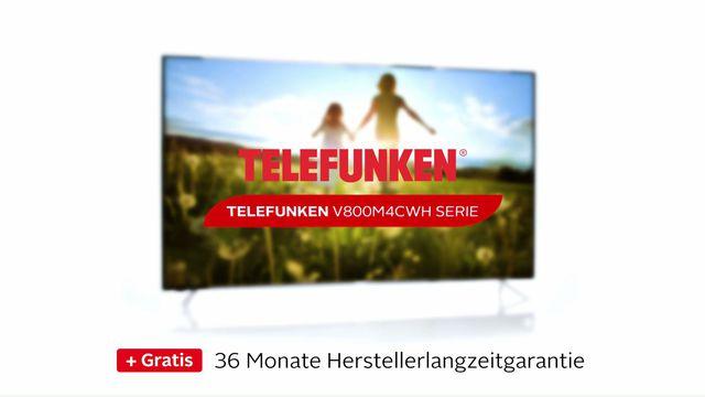 telefunken d55v800m4cwh led fernseher 139 cm 55 zoll 4k ultra hd smart tv 36 monaten herstellerlangzeitgarantie online kaufen otto