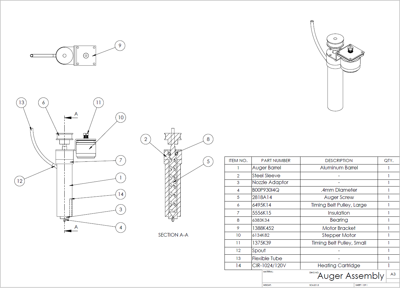 Detailed Assembly Drawing