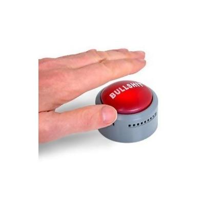 Image result for bullshit button