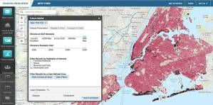 """Highly exploratory """"what-if"""" visualizations help policymakers and citizens understand potential climate futures."""