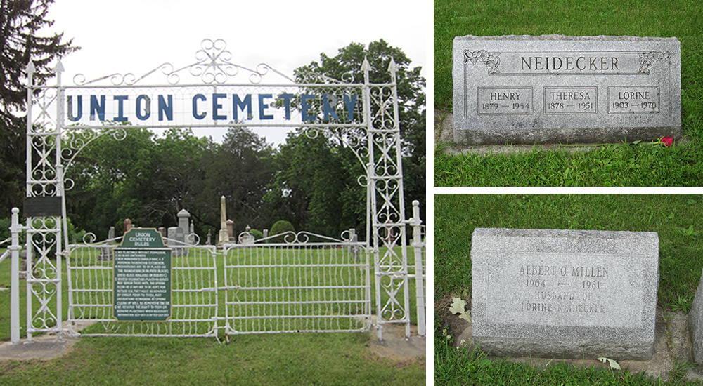 Neidecker family grave site.