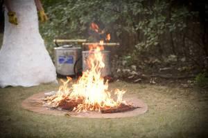 Drip Torch Weddings and Environmental Rituals
