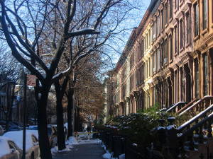 Bed-Stuy Neighborhood. Photo by Mike Goren, CC BY 2.0.