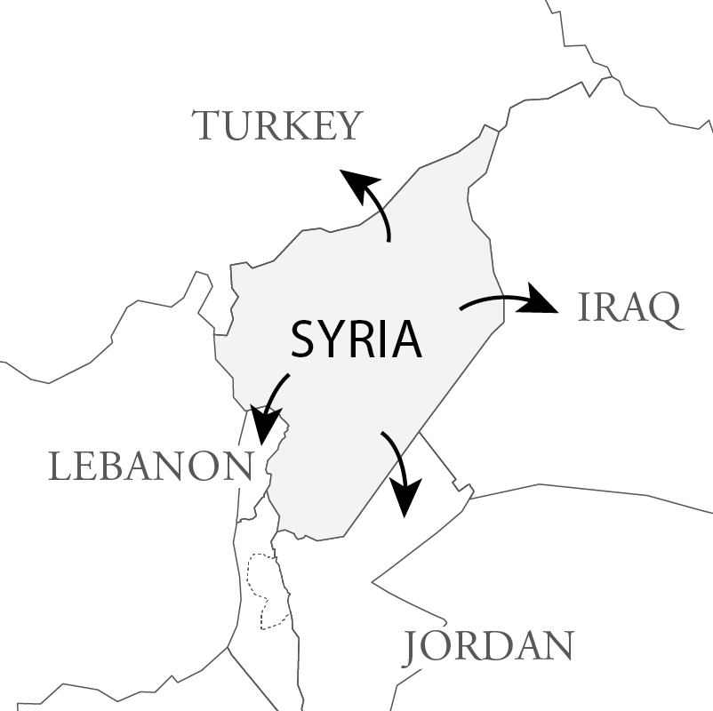 From Lines To Stories New Visualizations Of Syrias Borders